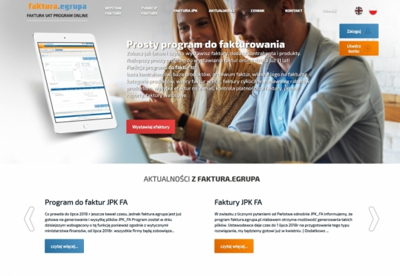 Faktura egrupa - management of invoices and documents online