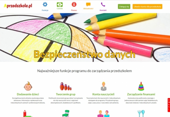 Program for managing kindergarten online